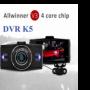 DVR K5 – GPS Camera hành trình trước sau kiêm camera lùi, đo & cảnh báo khoảng cách